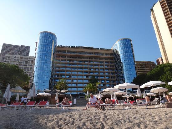 Le Meri N Beach Plaza Exterior From Private Beach
