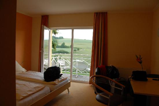 Hotel Zur Morschbach: View from inside our room