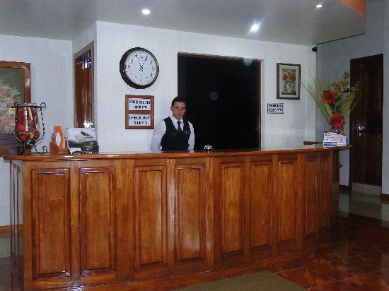 Anna Inn Hotel: Main Lobby, great staff