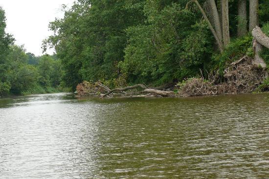Balades en bateau - Gite du Maudit Francais: en bateau pour le lac ST PIERRE