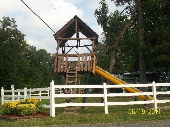 Anvil Campground: playground