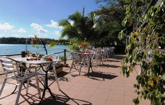 Hotel Hibiscus : Terrasse Restaurant