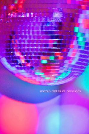 Restaurant Mozza Pates et Passions: Nos fameuses salles de bain disco