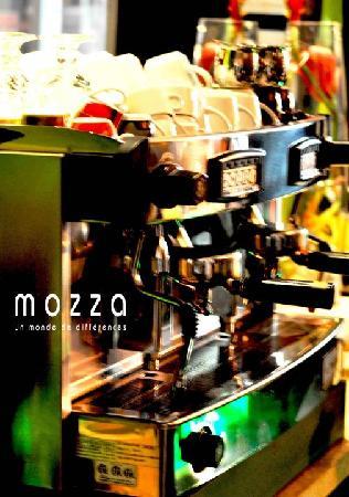 Restaurant Mozza Pates et Passions: Notre bar à café
