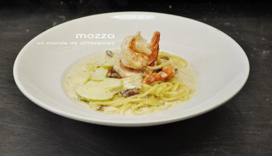 Restaurant Mozza Pates et Passions : Un de nos délicieux plats Les Passions du Chef