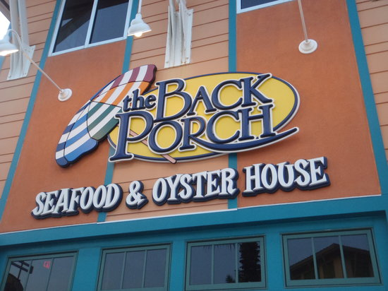 The Back Porch Seafood Oyster House Panama City Beach