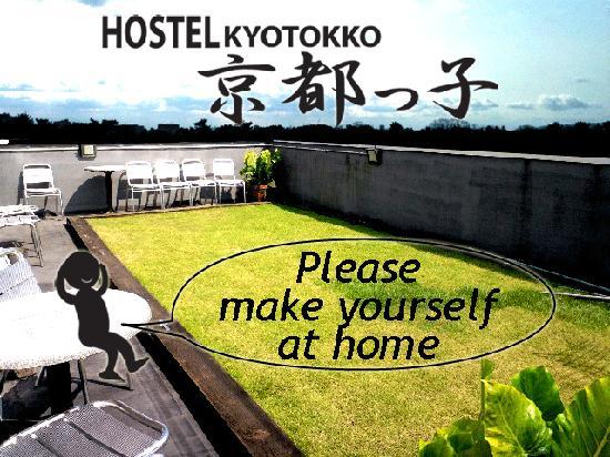 Hostel Kyotokko: ROOF GRADEN