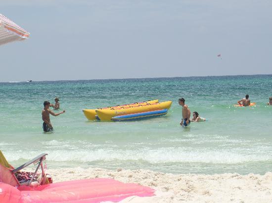 Wyndham Vacation Resorts Panama City Beach Banana Boat Rides