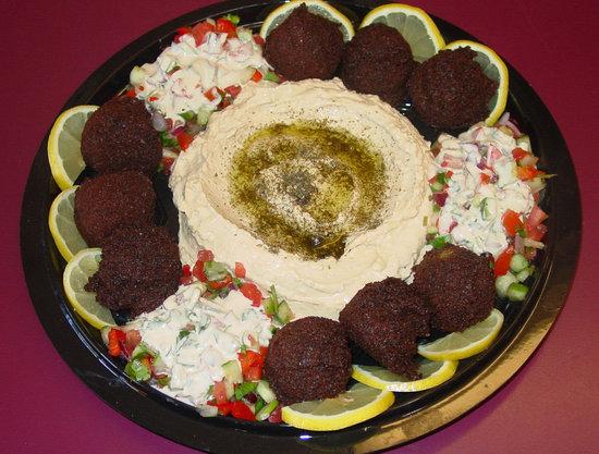 Expressly Leslie Vegetarian Specialties: Falafel Platter