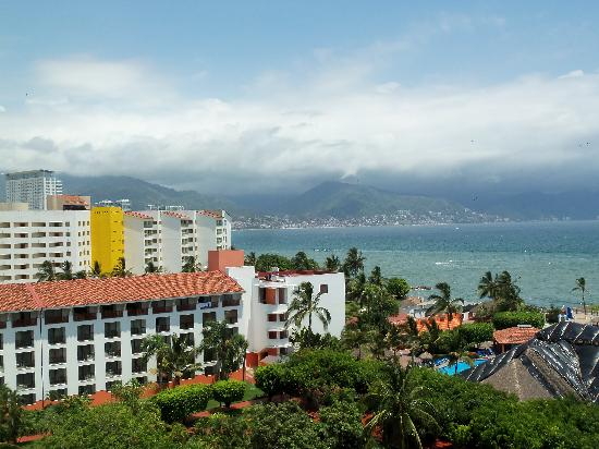 Melia Puerto Vallarta All Inclusive: View from the balcony