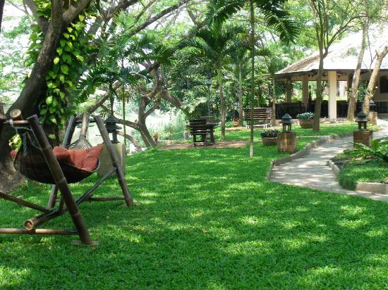 โรงแรมบ้านน้ำปิง: Garden View