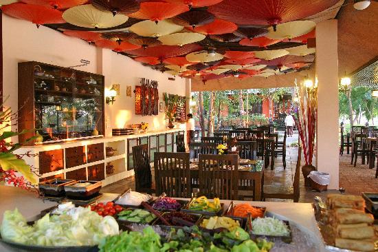โรงแรมบ้านน้ำปิง: Restaurant