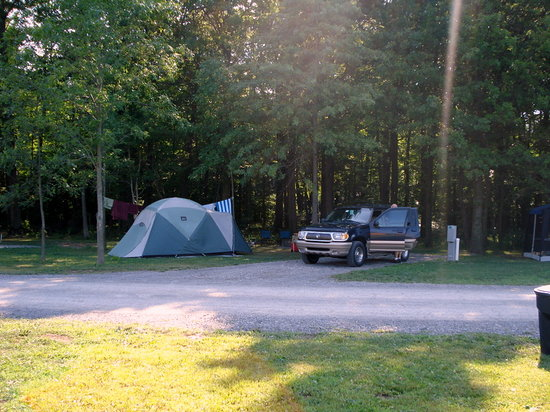 Grand Island, Estado de Nueva York: Tent site