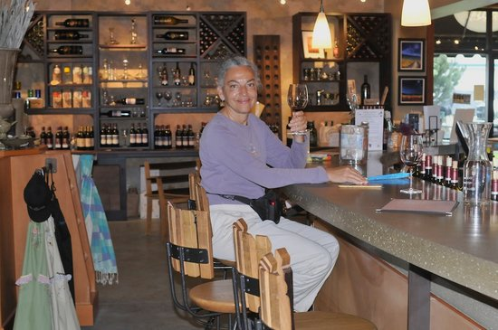 Pend d'Oreille Winery : Enjoying the ambience and the Bistro Rouge