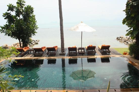 Belmond Napasai : Pool area of Villa #12
