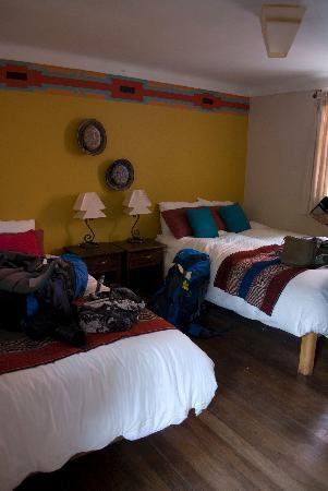 Pisac Inn: our bedroom