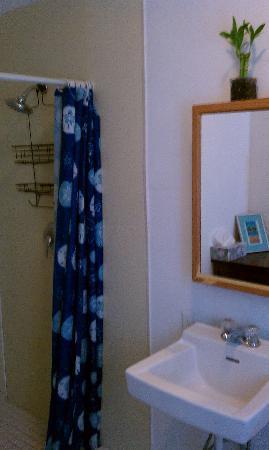 Santa Barbara Tourist Hostel: Bath - private room.