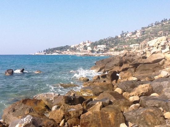 Grand Hotel del Mare Resort & Spa : view from the beach
