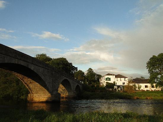 Ken Bridge Hotel at sunset