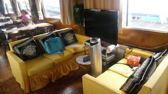 Botel Zebra: sala colazione da sogno