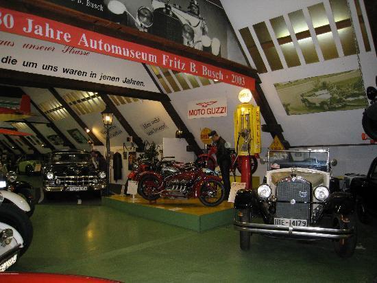 Automuseum Busch: inside bldg 2
