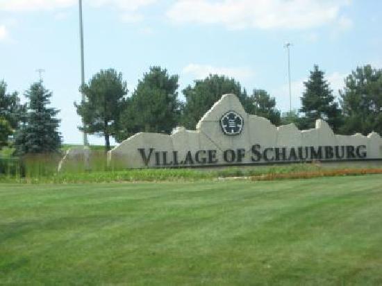 Quality Inn Schaumburg: Ortseingang Schaumburg