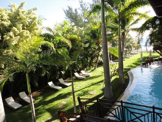 Le Saint Alexis Hotel & Spa: view from junior suite 1st floor