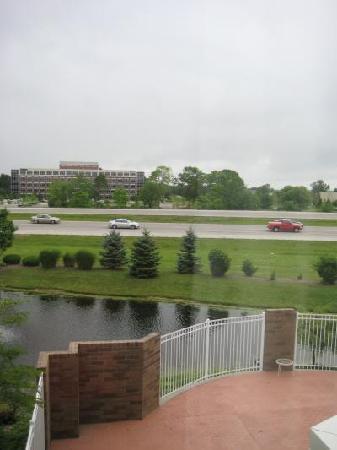 Hilton Garden Inn Indianapolis/Carmel: Blick aus Zimmer 214