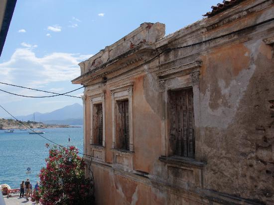 Hotel Damo : Wiew from the balcony