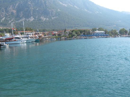 Akyaka, Türkei: view from harbour