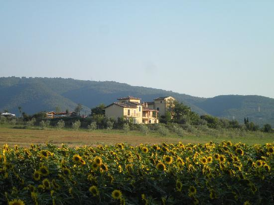 Narni, Ιταλία: il poggio con l'agriturismo