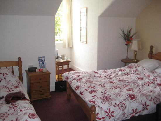 Cherry Tree Villa Guest House : twin double room