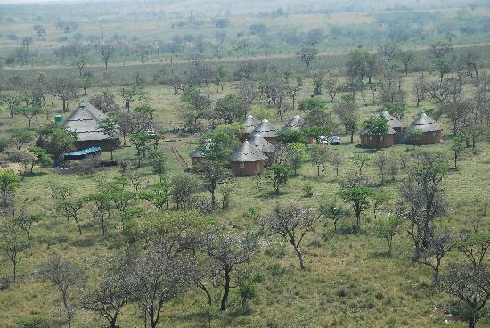 Arial View of Lituba Lodge