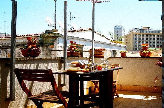 Sui Tetti di Napoli: terrace