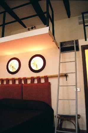 Sui Tetti di Napoli: bedroom