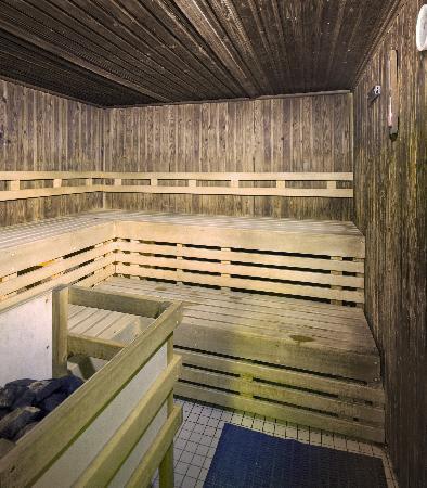 Sauna at the Bay Eden Arms Hotel