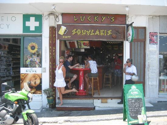Lucky's Souvlakis: Lucky's storefront