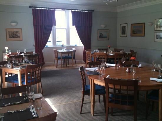 Bridgend Hotel Restaurant: Dining room