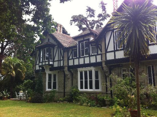 Rylstone Manor Hotel: Back of hotel in it's private gardens, lovely.