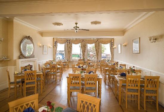 Ryde, UK: Restaurant at the Bay Royal Esplanade