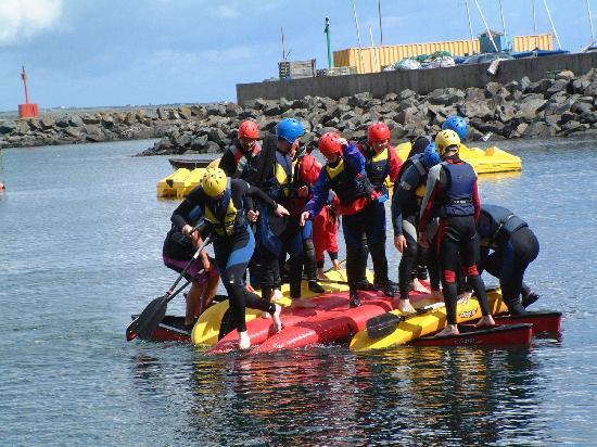 Dunmore Adventure: Team Challenges, water style!