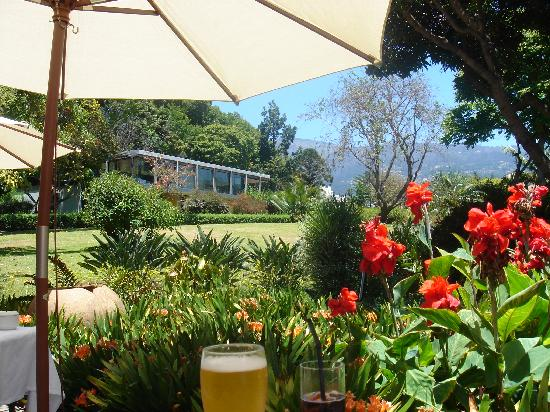 Quinta da Casa Branca: View of main building from breakfast/lunch terrace