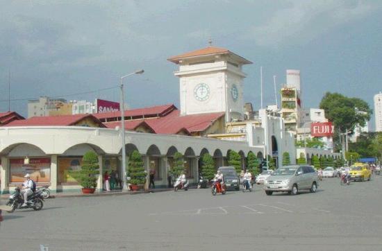 Ho Chi Minh City, Vietnam: ベンタン市場