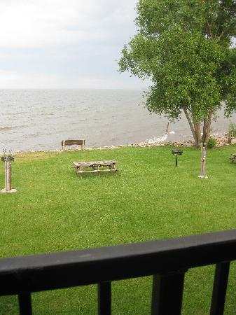 AmericInn Lodge & Suites Menominee: View from balcony