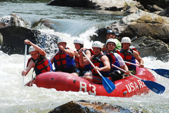 Erwin, TN: Rafting the Nolichucky River