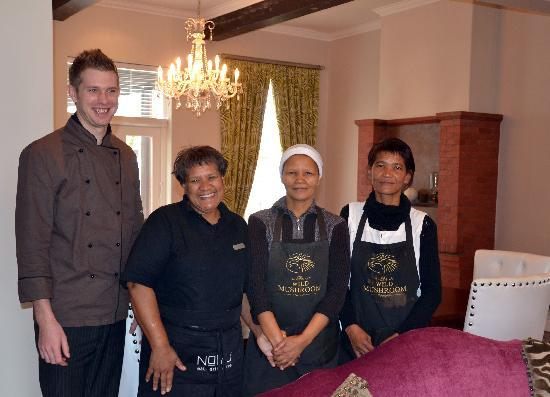 The Wild Mushroom Boutique Hotel: Thanks to the Team!