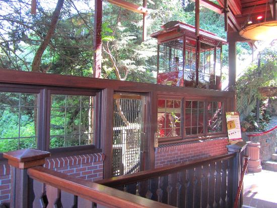 The Funicular At Shadowbrook