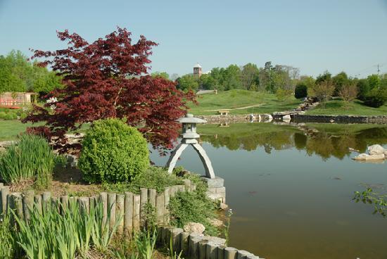 Yuko En On The Elkhorn The Official Kentucky Japan Friendship Garden Picture Of Georgetown