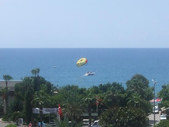 Gunes Suntime Hotel: view from hotel room