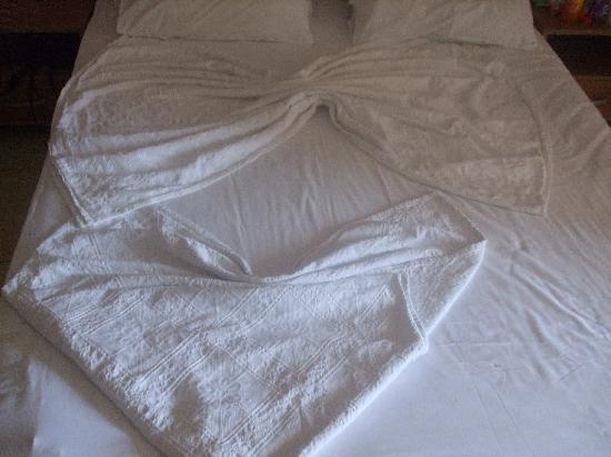 Gunes Suntime Hotel: our bed was made each day